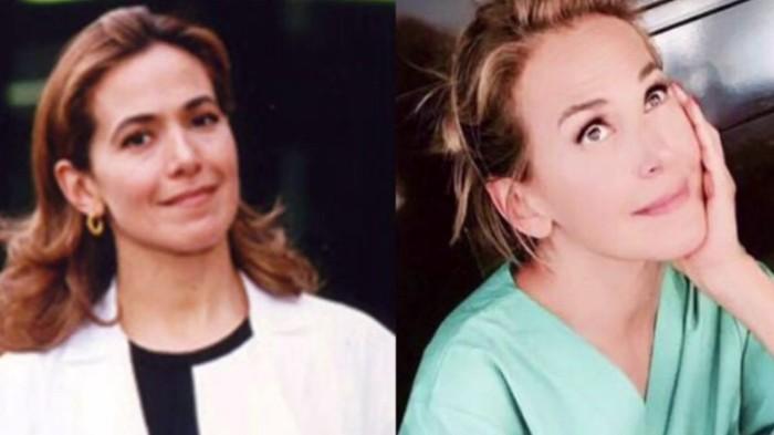 Dottoressa Giò nel 1997- Dottoressa Giò oggi.